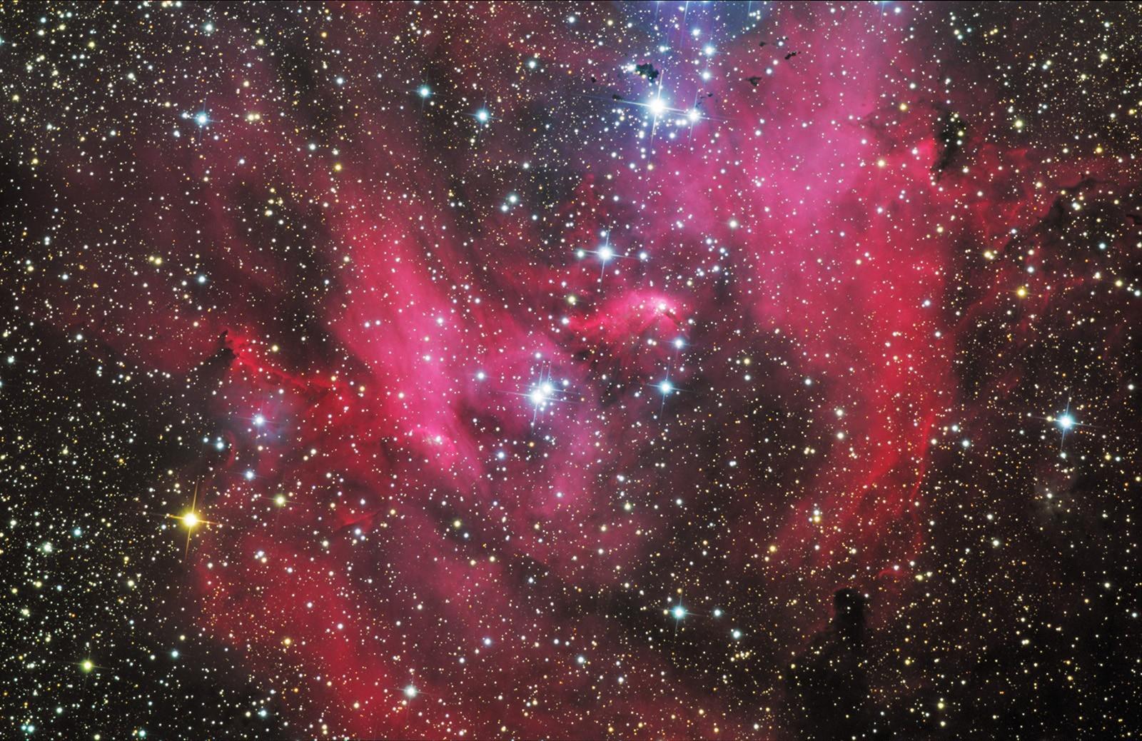 фото космос яркий