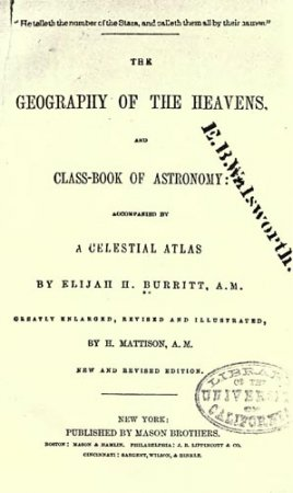 The Geography of the Heavens and Class-Book of Astronomy