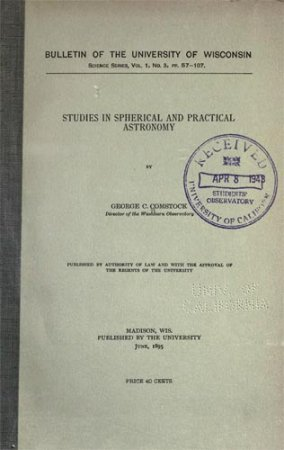 Studies in Spherical and Practical Astronomy