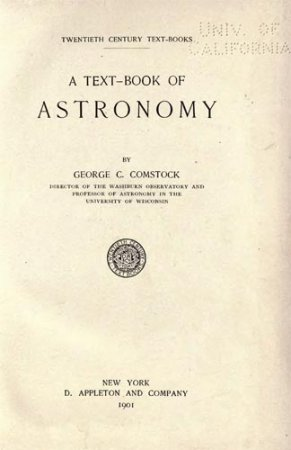 A text-Book of Astronomy