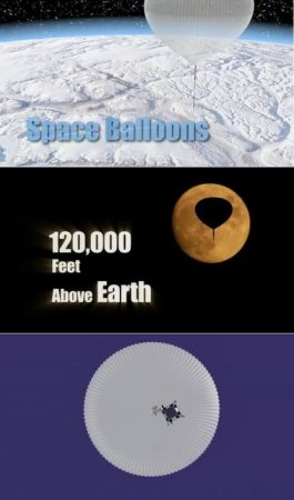 Space Balloons: 120,000 Feet Above Earth