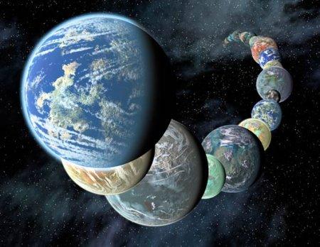 В нашей галактике может существовать около 160 млрд планет